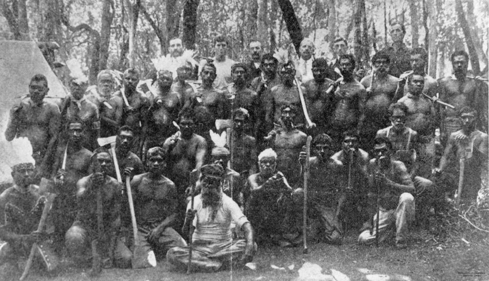 Men-with-axes-from-Barambah-Aboriginal-Settlement_1910s