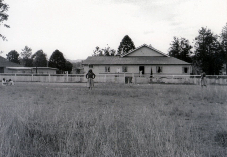 Mothers Quarters at Barambah Aboriginal Settlement 1962