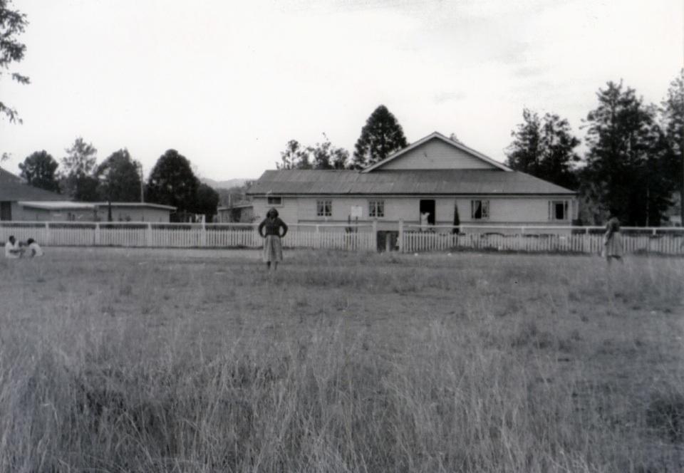 Mothers Quarters at Barambah Aboriginal Settlement 1962