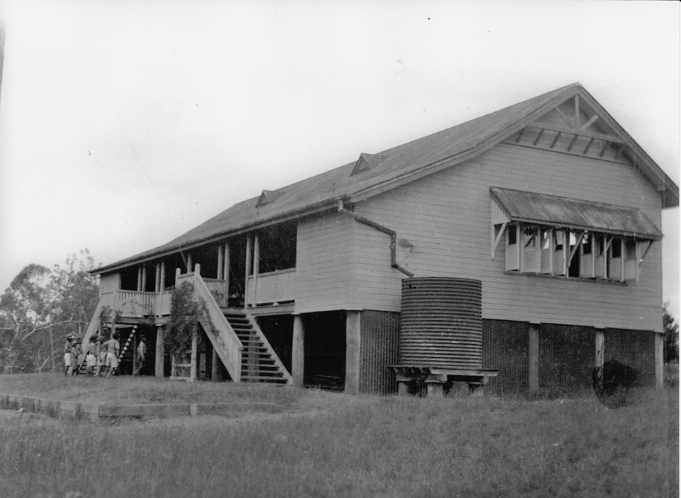 New School at Barambah Aboriginal Settlement c1930