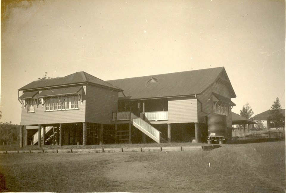 New wing at Cherbourg Aboriginal Settlement School c1937