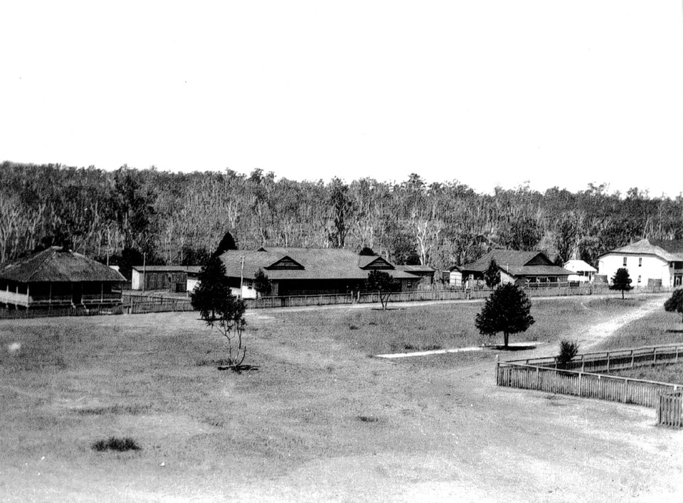 Office-and-dormitory-area-at-Barambah-Aboriginal-Settlement_1930
