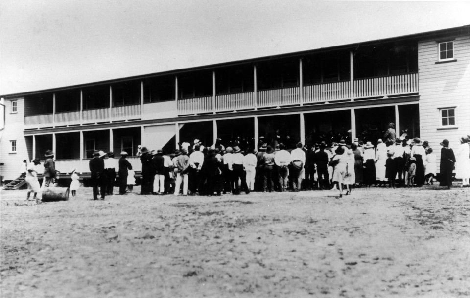Opening of the Stopford Home for Aboriginal Girls at Barambah Aboriginal Settlement 1925