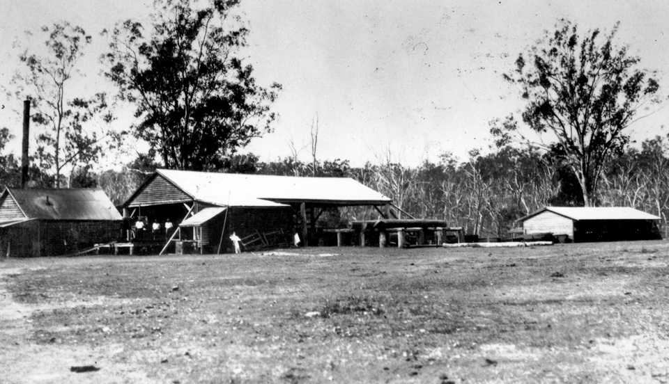 Sawmill at Barambah Aboriginal Settlement c1918