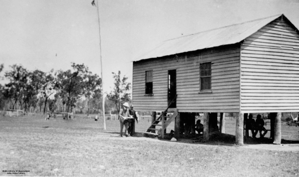 School building at Barambah Aboriginal Settlement 1911