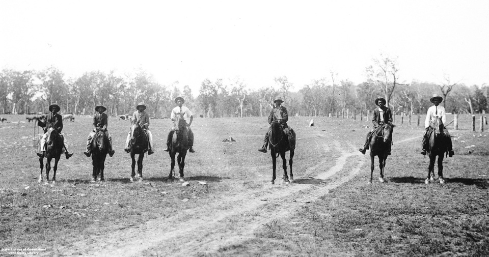 Stockmen at Barambah Aboriginal Settlement 1911