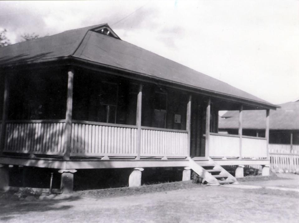 Superintendents Office at Barambah Aboriginal Settlement c1926