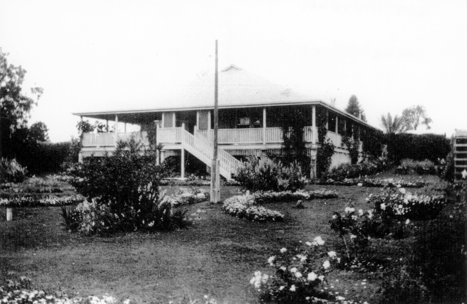 Superintendents new house at Barambah Aboriginal Settlement c1930