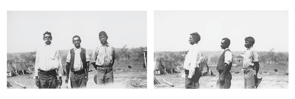 Tom Thumb, Tommy Tait and Tommy at Barambah Aboriginal Settlement 1911